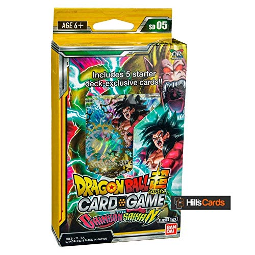 Dragon Ball Super The Crimson Saiyan Deck Series 4 Colossal Warfare