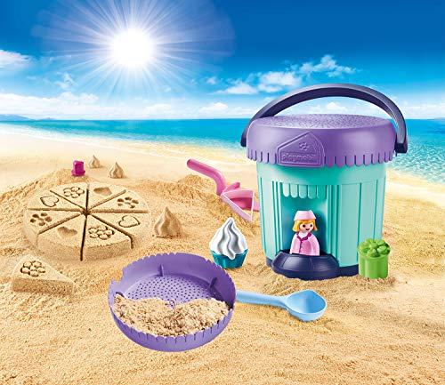 Cubo pastelería Playmobil 1.2.3 Sand (70339)