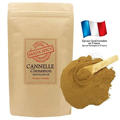 """Cannelle poudre de Ceylan 1020gr. Origine Madagascar. Sachet refermable. """"Agriculture durable"""""""