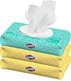 Clorox Disinfecting Bleach Free Cleaning Wipes, 75 Count (Pack of 3)...
