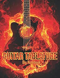 Guitar Tablature: Big Notebook (Standard Wirebound Manuscript Paper) Blank Musical Notebook | Staff Paper Music Sheet For Guitar Players, Musicians, Teachers and Students (150 Pages 8.5x11)