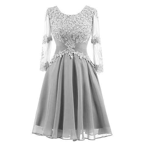 Mother of The Bride Tea Length Dress: Amazon.com