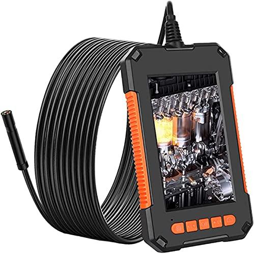 X&Z-XAOY Endoscopio Industrial,cámara De Inspección De Boroscopio 8mm 108 0P HD 4.3-Pulgada IP67 Cámara A Prueba De Agua En Forma De Serpiente con 8 DIRIGIÓ Luces,2600mAh Batería (Size : 1