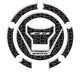 Calcomanía de la Etiqueta de protección de la Almohadilla del Tanque de la Tapa de Gas 3D CB650R CB 650R 2019 (Color : GTCB65R Wht)