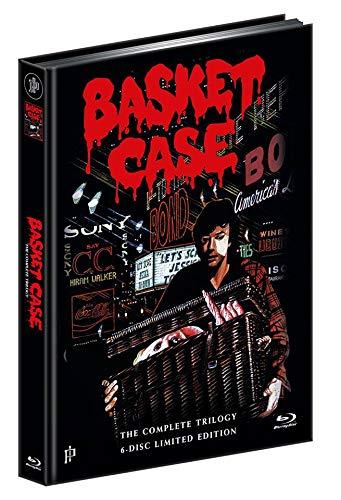 Basket Case - Uncut Trilogy - Mediabook - 6 Disc Limited Edition Blu-Ray