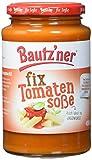 BAUTZ'NER Fix Tomatensoße, 6er Pack (6 x 400 ml) im Glas – fertige Tomaten-Soße