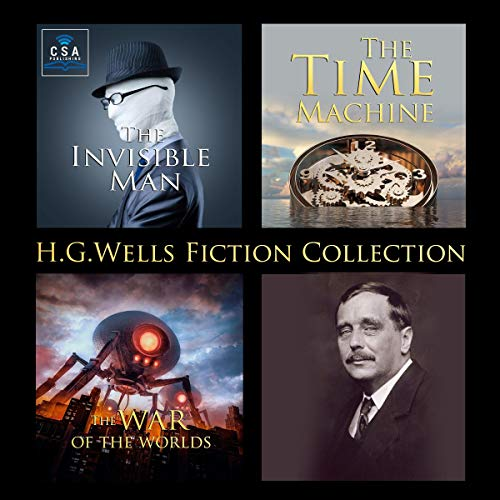 『H.G. Wells Fiction Collection』のカバーアート