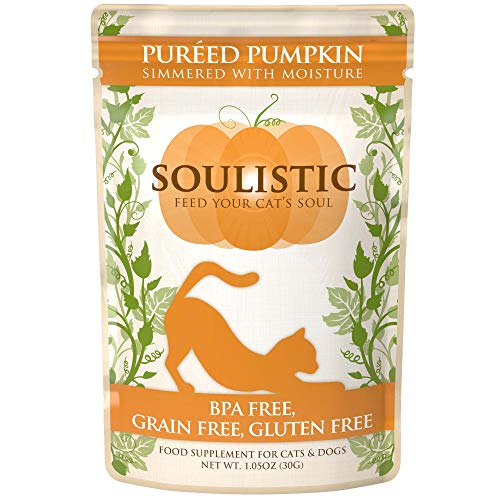 Soulistic Pureed Pumpkin Supplement for Cats