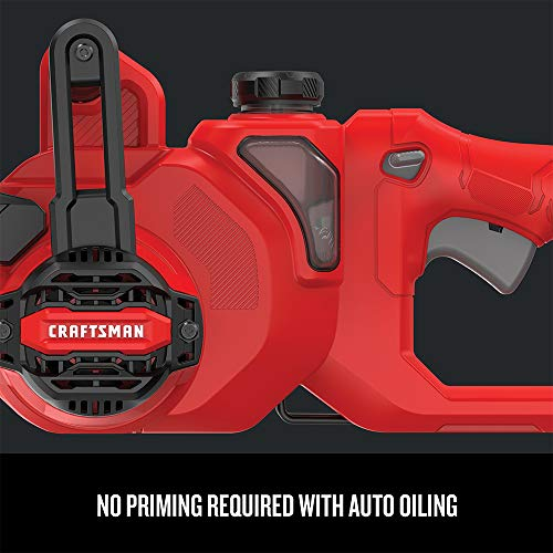 CRAFTSMAN Chainsaw, 8-Amp, 14-Inch (CMECS614) , Red