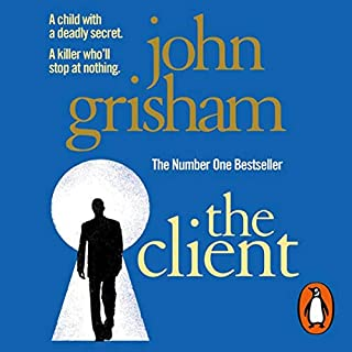 The Client                   By:                                                                                                                                 John Grisham                               Narrated by:                                                                                                                                 Blair Brown                      Length: 5 hrs and 45 mins     42 ratings     Overall 4.1