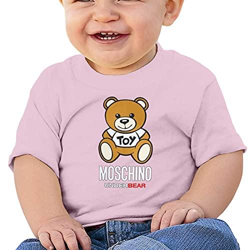Opahxa5 linda camiseta de bebé moschi-no underbear Camiseta de algodón de manga...