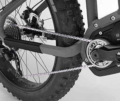 KMC X 11 E Fahrradkette, Silber, 1/2″ x 11/128″ - 4