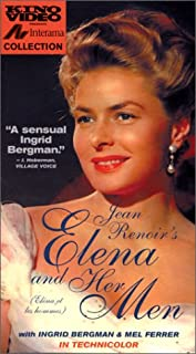 Jean Renoir's Elena and Her Men VHS