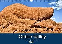Goblin Valley - Im Tal der Gnome und Trolle (Wandkalender 2022 DIN A3 quer): Das Goblin Valley im Suedosten Utahs ist ein bizarres Paradies durch Erosion geformter Sandsteinskulpturen. (Monatskalender, 14 Seiten )