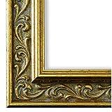 Bilderrahmen Verona 558P-ORO Gold 4,4 - WRF - DIN A0 (84,1 x 118,9 cm) - wählen Sie aus über 500 Varianten - alle Größen - Antik, Barock, Landhaus, Shabby, Verziert - Fotorahmen Urkundenrahmen Posterrahmen