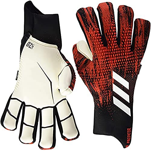 adidas Unisex-Adult Pred Gl Pro Fs Glove Liners, Black/Active Red, 10