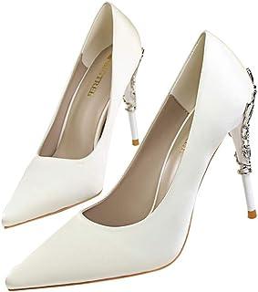 Moquite Sexy Moda Scarpe col Tacco Donna Tacco a Spillo Alto Sandali con Tacco Alto Sandali con Tacco Alto Sandali Shoes E...