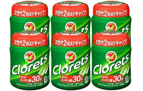 モンデリーズ クロレッツ オリジナルミントボトル 140g ×6個【入り数2】