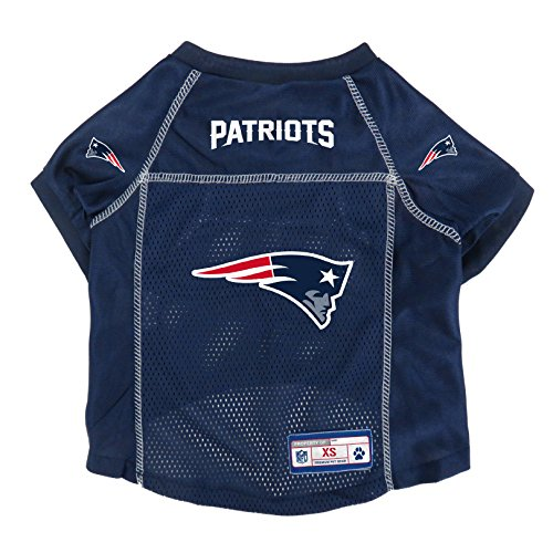 NFL New England Patriots Pet Jersey, XS