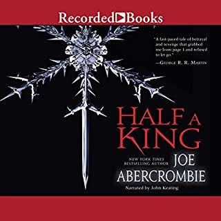 Half a King audiobook cover art