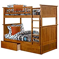 Nantucket Urban Twin Over Twin Storage Bunk Bed