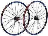 Mountainbike-Laufradsatz 26/27,5 Zoll, MTB-Fahrradlaufräder Alu-Doppelwandfelgen-Scheibenbremse Schnellspanner, abgedichtete Lager 8 9 10 11-Gang-Fahrrad-Vorder- und Hinterräder