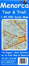 Menorca Tour and Trail Map (Tour & Trail Maps)