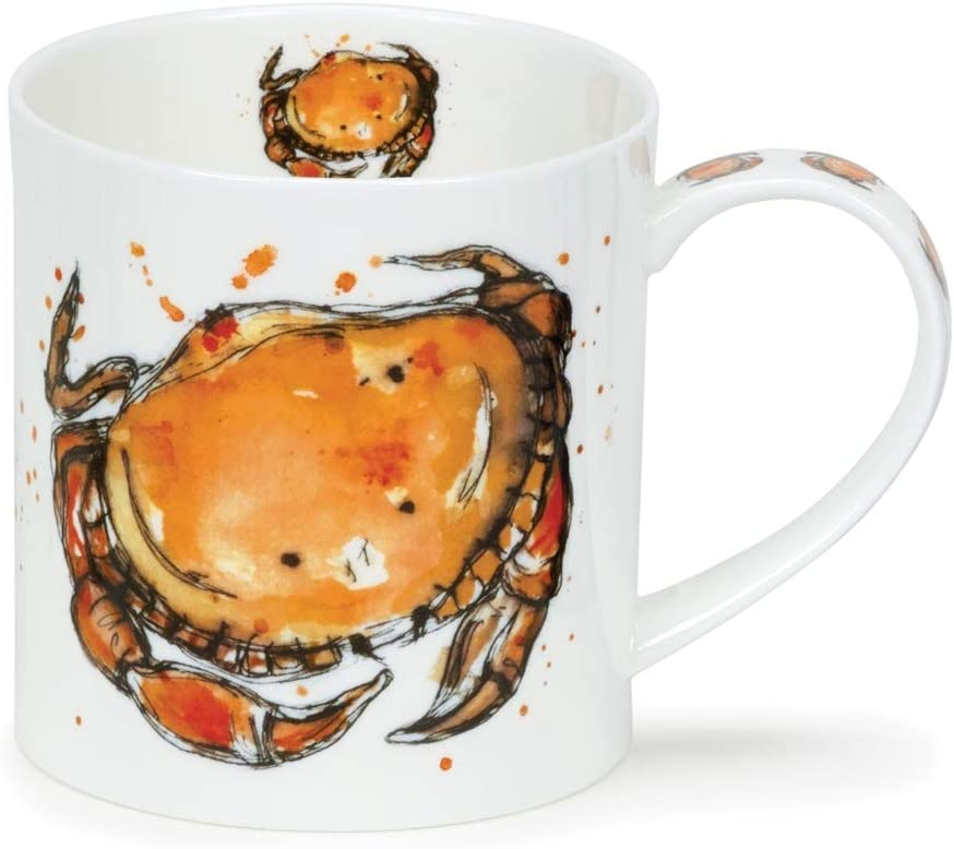 Dunoon taza de porcelana dollyhotdog Seaside taza Orkney fabricado en Inglaterra Catch