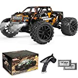 New Version Oversize 1/18th Truck:Oversize 1/18th Scale 4WD remote control car big wheel rc monster truck, released in 2020 new design version with LED headlight, features independent suspensions and reinforced truck chassis design practising high sp...