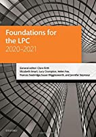 Foundations for the LPC 2020-2021 (Legal Practice Course Manuals)