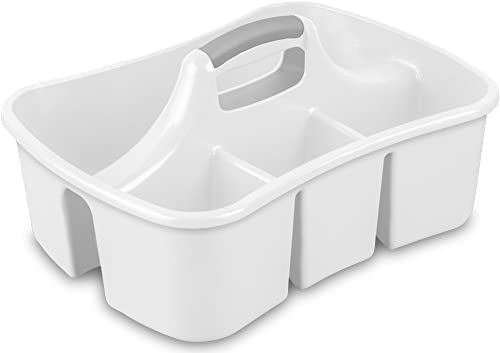 Sterilite 15888006 Divided Ultra Caddy,White