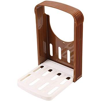 NITIUMI パン切りガイド 食パンスライサー 簡単カット 包丁ガイド スライサー ローフ スライスガイド キッチンツール 折り畳み式デザイン 操作便利 実用的 キッチンガジェット