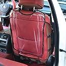 NancyMissY カーケアシート保護バックレストカバーチャイルドプロテクションカバー透明クリーンキックパッド自動車部品アクセサリー