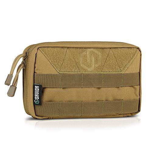 Savior Equipment Multi-Purpose Tactical EDC Admin MOLLE Pouch Utility Tools Bag Organizer Military Waist Belt Modular Attachment
