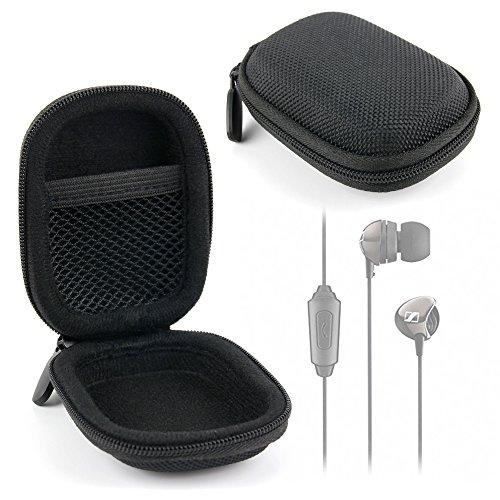 DURAGADGET Funda Negra para Auriculares Samsung EHS61ASFWEC / EHS64AVFWE / Sennheiser CX 150 / CX 275 S/Liam and Daan 640 Flat