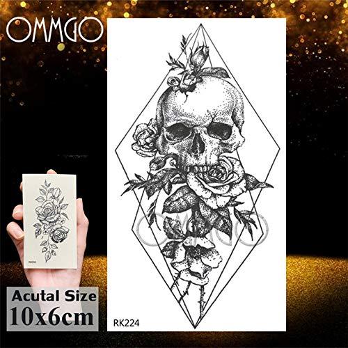 Mapache 5Pcs- buho del diamante del arte de cuerpo del tatuaje para niños hombres de las mujeres de los tatoos impermeable Niño Niña-Brazo En etiqueta engomada del tatuaje Tatuaje En G Ork224