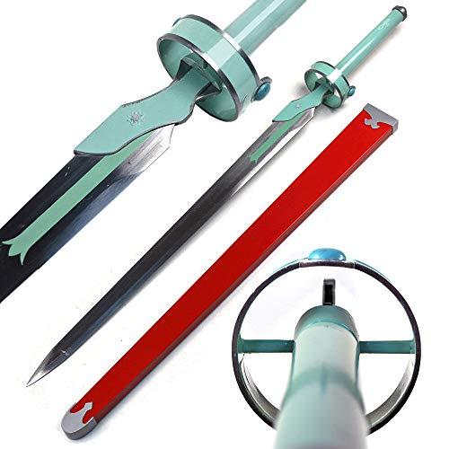 Sword Art Online Asuna Yuuki Lambient Light White Carbon Steel Replica Sword
