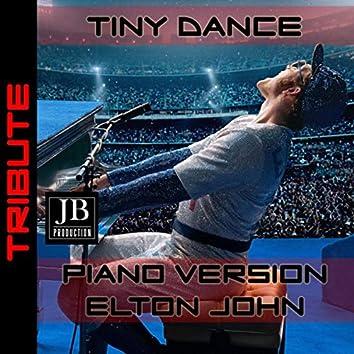 Tiny Dance (Elton John Instrumental Piano Version)