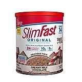 SlimFast Original Creamy Milk Chocolate Meal Replacement Shake Mix -...