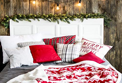 Winter Kulissen Weihnachten Schneebaum Weihnachtsmann Hirsch Geschenk Laterne Kind...