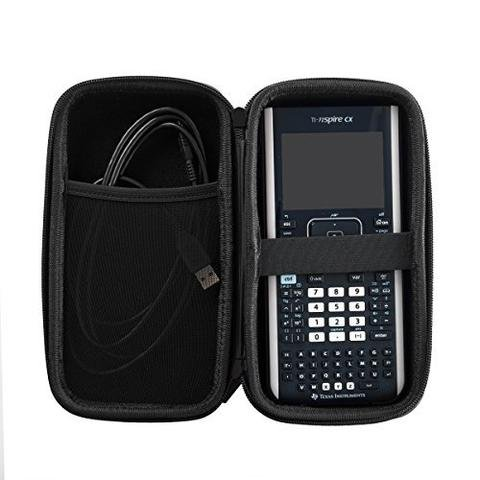 Case Fits Graphing Calculator Texas Instruments TI Nspire CX/CX II/CX CAS | Carrying Storage Travel Bag Protective Pouch Photo #3