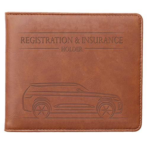 CANOPUS Car Registration and Insurance Holder, Magnetic...