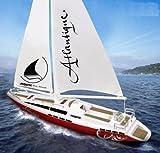 RC Modell Segelboot Atlantique Ferngesteuert 2 Kanal 27Mhz 38 cm