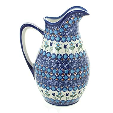 Blue Rose Polish Pottery Savannah Pitcher