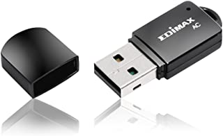 Edimax EW-7811UTC AC600 Dual-Band USB Adapter, Mini Size Easy to Carry, Supports Both 11AC ( 5GHz Band ) and 11n ( 2.4GHz Band ) Wi-Fi Connectivity, Upgrades your PC / Laptop for Exceeding Streaming and Faster Download