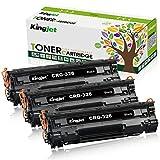 kingjet Canon CRG-326 (3本セット) 汎用 互換トナーカートリッジ 印刷枚数 2100 ICチップ付き残量検知