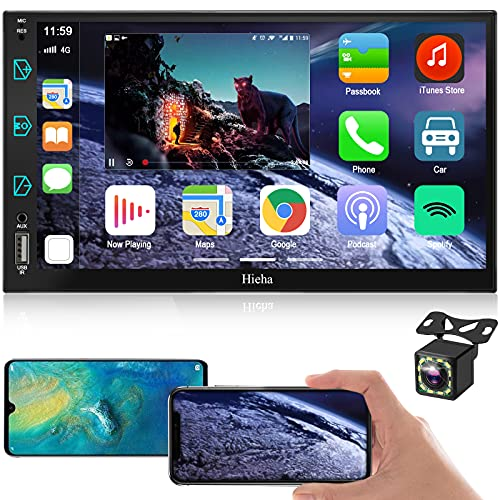 7inch Car Stereo Compatible with Apple Carplay Double
