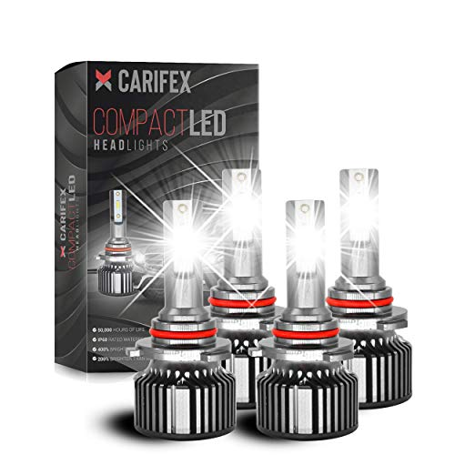 9005/HB3 High Beam H11/H9 Low Beam 14000LM LED Headlight Bulbs Combo Package CSP...