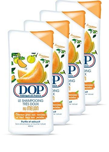 DOP Shampooing Très Doux au Melon 400 ml - Lot de 4