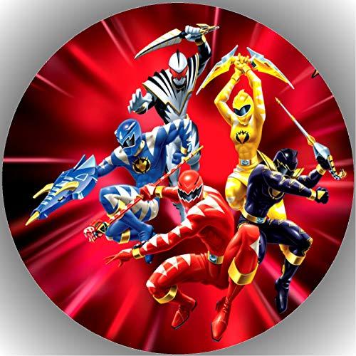 Premium Esspapier Tortenaufleger Tortenbild Geburtstag Power Rangers T12